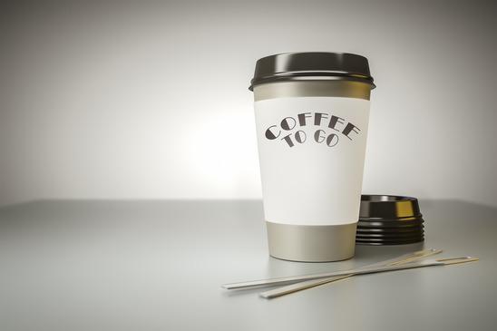 Individueller Druck- Individuelle Coffee to Go Becher